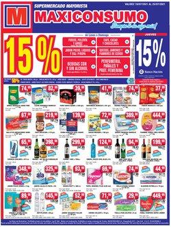 Ofertas de Hiper-Supermercados en el catálogo de Maxiconsumo ( Vence hoy)