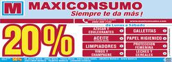 Ofertas de Maxiconsumo  en el folleto de Necochea