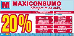 Ofertas de Maxiconsumo  en el folleto de Gregorio de Laferrere