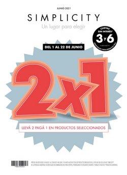 Ofertas de Hiper-Supermercados en el catálogo de Simplicity ( 3 días más)
