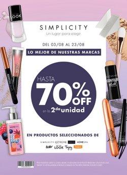 Ofertas de Hiper-Supermercados en el catálogo de Simplicity ( Publicado ayer)