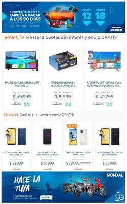 Ofertas de Electrónica y Electrodomésticos en el catálogo de Pardo Hogar en Buenos Aires ( 6 días más )