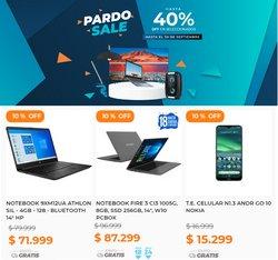 Ofertas de Electrónica y Electrodomésticos en el catálogo de Pardo Hogar ( 7 días más)