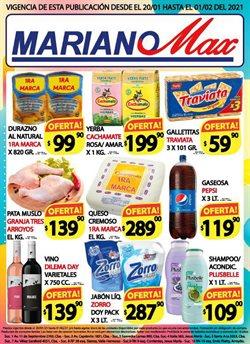 Catálogo Supermercados Mariano Max ( 8 días más )