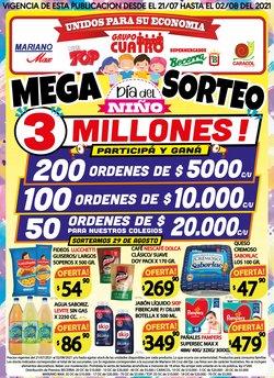 Ofertas de Hiper-Supermercados en el catálogo de Supermercados Mariano Max ( 5 días más)
