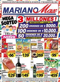 Catálogo Supermercados Mariano Max ( 12 días más)