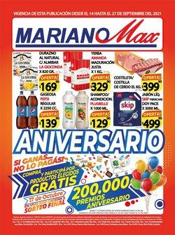 Catálogo Supermercados Mariano Max ( Vence hoy)