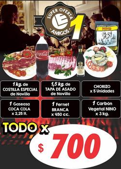 Ofertas de Emilio Luque  en el folleto de San Miguel de Tucumán