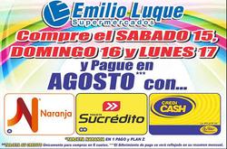 Ofertas de Emilio Luque  en el folleto de San Fernando del Valle de Catamarca