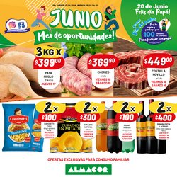 Ofertas de Hiper-Supermercados en el catálogo de Almacor ( Vence hoy)