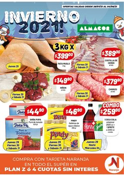 Ofertas de Hiper-Supermercados en el catálogo de Almacor ( Publicado hoy)