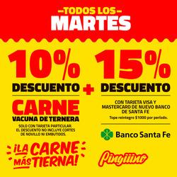 Ofertas de Supermercados Pingüino  en el folleto de Rafaela