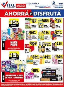 Ofertas de Hiper-Supermercados en el catálogo de Supermayorista Vital en Esperanza ( 3 días más )
