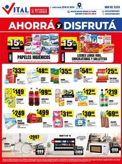 Ofertas de Hiper-Supermercados en el catálogo de Supermayorista Vital en Mar del Plata ( Publicado ayer )