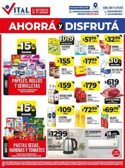 Ofertas de luncheras en el catálogo de Supermayorista Vital ( Vence mañana)