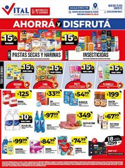 Ofertas de Hiper-Supermercados en el catálogo de Supermayorista Vital en Santa Fe ( Publicado ayer )