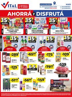 Ofertas de Hiper-Supermercados en el catálogo de Supermayorista Vital ( Publicado hoy)