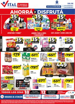 Ofertas de Hiper-Supermercados en el catálogo de Supermayorista Vital ( Vence mañana)