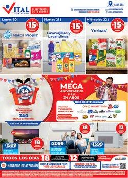 Ofertas de Supermayorista Vital en el catálogo de Supermayorista Vital ( 6 días más)