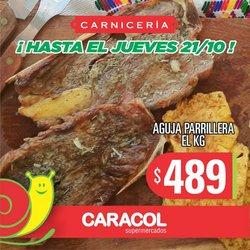 Ofertas de Hiper-Supermercados en el catálogo de Supermercados Caracol ( Vence hoy)