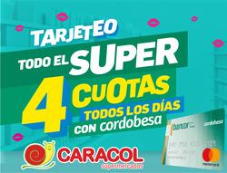 Ofertas de Supermercados Caracol  en el folleto de Río Tercero