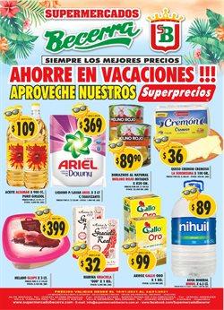 Ofertas de Hiper-Supermercados en el catálogo de Supermercados Becerra en Villa Carlos Paz ( Caduca mañana )