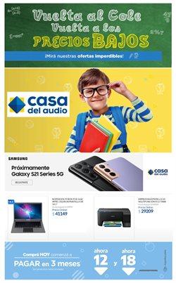Ofertas de Electrónica y Electrodomésticos en el catálogo de Casa del Audio en Buenos Aires ( Caduca hoy )