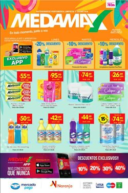 Ofertas de Hiper-Supermercados en el catálogo de Medamax en Bahía Blanca ( Caduca hoy )