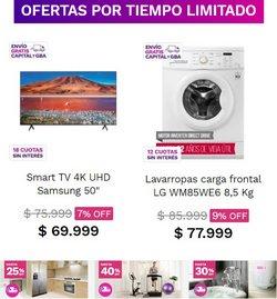 Ofertas de Samsung en el catálogo de Frávega ( Vence hoy)