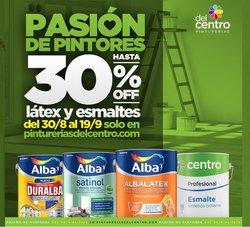 Ofertas de Ferreterías y Jardín en el catálogo de Pinturerías del Centro ( 3 días más)