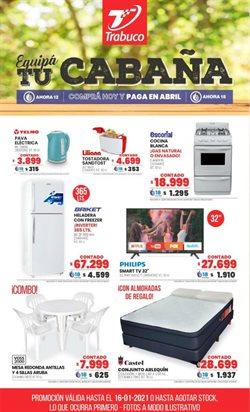 Ofertas de Electrónica y Electrodomésticos en el catálogo de Trabuco Hogar en Lomas de Zamora ( Caduca hoy )