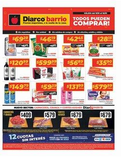 Ofertas de Hiper-Supermercados en el catálogo de Diarco en San Martín ( Caduca hoy )