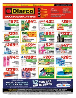Ofertas de Hiper-Supermercados en el catálogo de Diarco en Trenque Lauquen ( Caduca mañana )