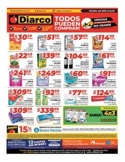 Ofertas de Hiper-Supermercados en el catálogo de Diarco en Río Grande ( Publicado ayer )