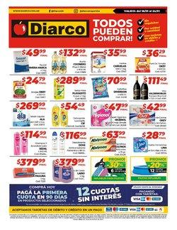 Ofertas de Hiper-Supermercados en el catálogo de Diarco en Martínez ( Caduca hoy )
