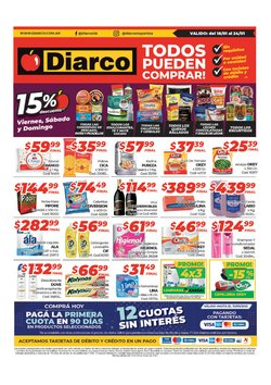 Ofertas de Hiper-Supermercados en el catálogo de Diarco en Caleta Olivia ( 3 días más )