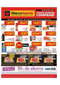 Ofertas de Hiper-Supermercados en el catálogo de Diarco en Florencio Varela ( 3 días más )