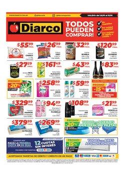 Ofertas de Hiper-Supermercados en el catálogo de Diarco en Tortuguitas ( Publicado hoy )