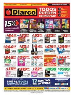 Ofertas de Hiper-Supermercados en el catálogo de Diarco en Río Gallegos ( Publicado ayer )