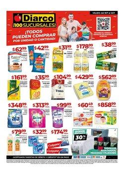 Ofertas de Hiper-Supermercados en el catálogo de Diarco ( Vence hoy)