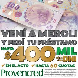 Ofertas de Meroli  en el folleto de Córdoba
