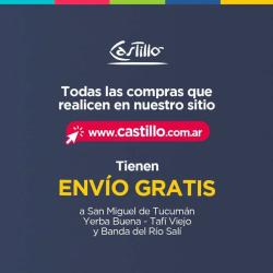 Ofertas de Castillo Hogar en el catálogo de Castillo Hogar ( Publicado ayer)