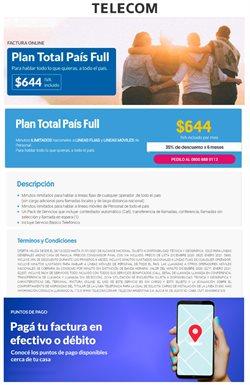 Catálogo Telecom ( 3 días publicado )