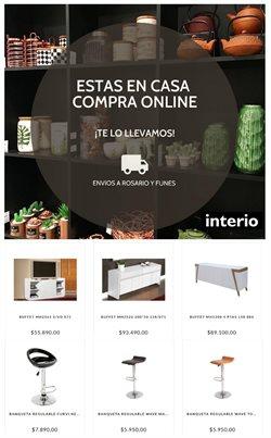 Ofertas de Muebles y Decoración en el catálogo de Interio en Rosario ( Más de un mes )