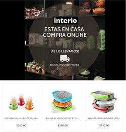 Ofertas de Interio en el catálogo de Interio ( Vence mañana)