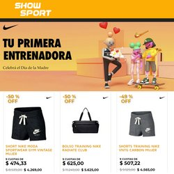 Ofertas de Show Sport en el catálogo de Show Sport ( 15 días más)