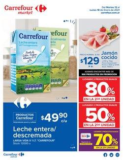 Ofertas de Leche entera en Carrefour Market