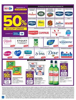 Ofertas de Queso crema en Carrefour Market