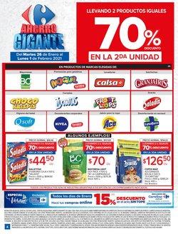 Ofertas de Snacks en Carrefour Market