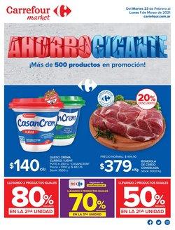 Catálogo Carrefour Market en Avellaneda (Buenos Aires) ( Caducado )